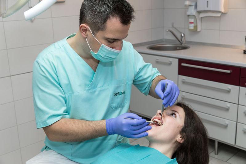 A Dentpointnál dolgozó fogorvosok felkészültek a koronavírus elleni védekezésre.