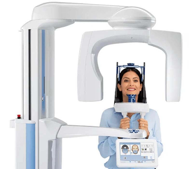 fogászati CT vizsgálat menete kevés lépésből áll